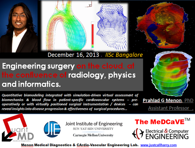 IISc Bangalore, 2013 (Invited Lecture) -- Poster